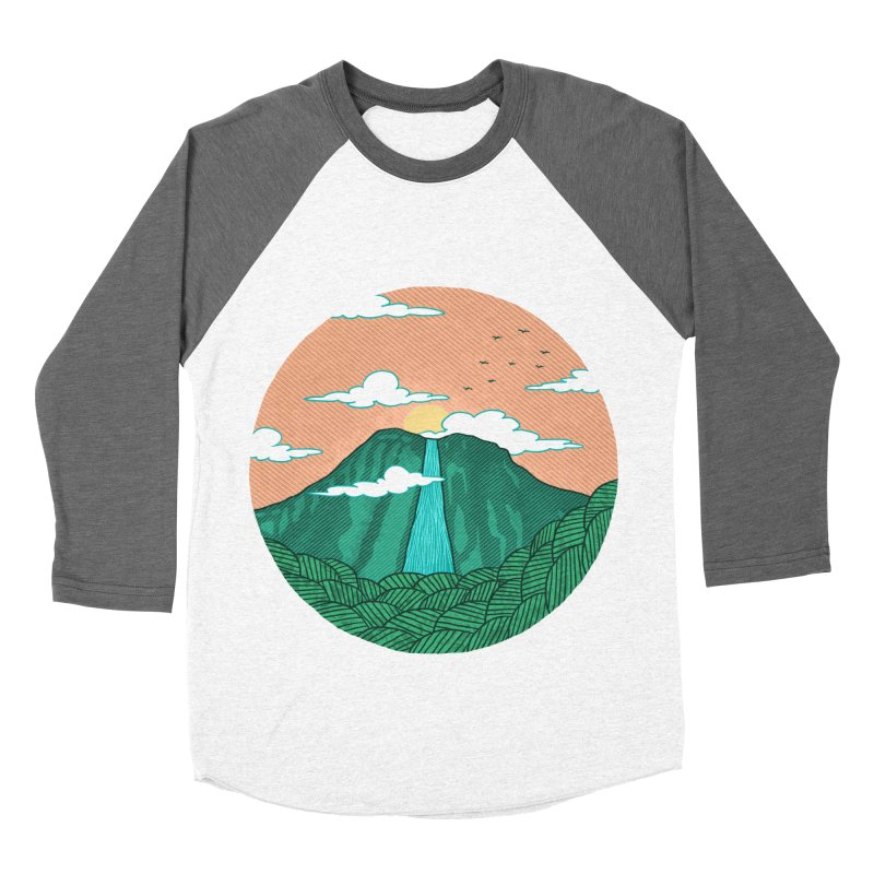 Meditation Men's Baseball Triblend T-Shirt by sachpica's Artist Shop