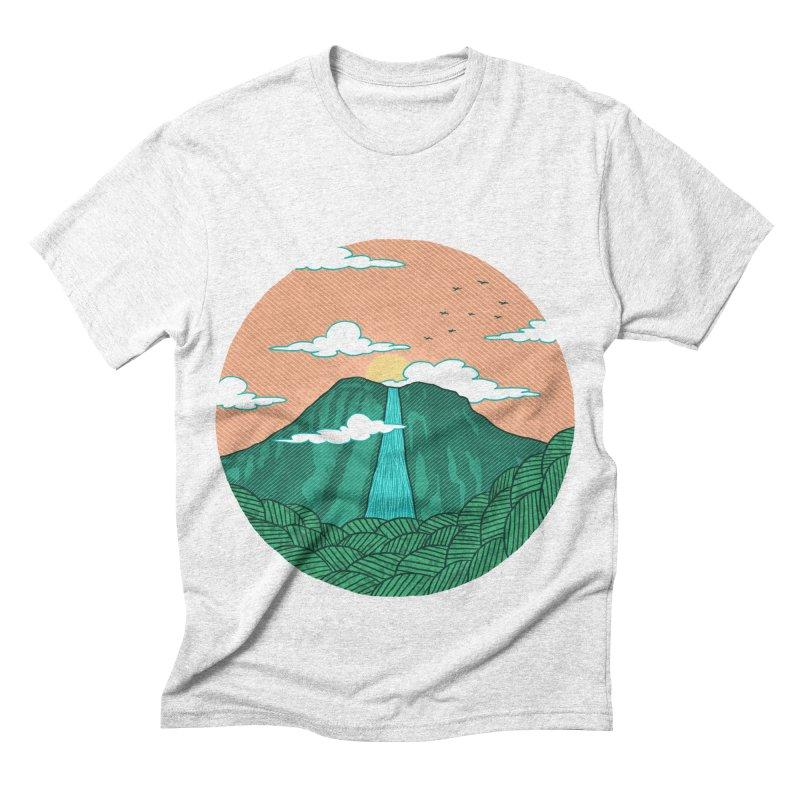 Meditation Men's Triblend T-shirt by sachpica's Artist Shop