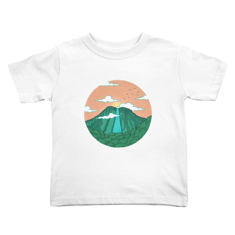 Meditation Kids Toddler T-Shirt by sachpica's Artist Shop