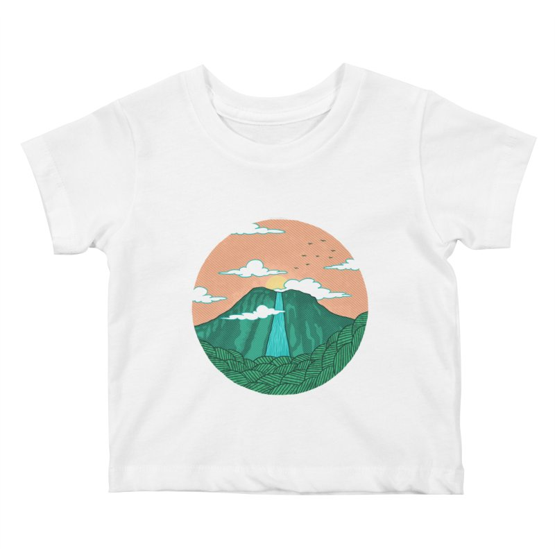 Meditation Kids Baby T-Shirt by sachpica's Artist Shop