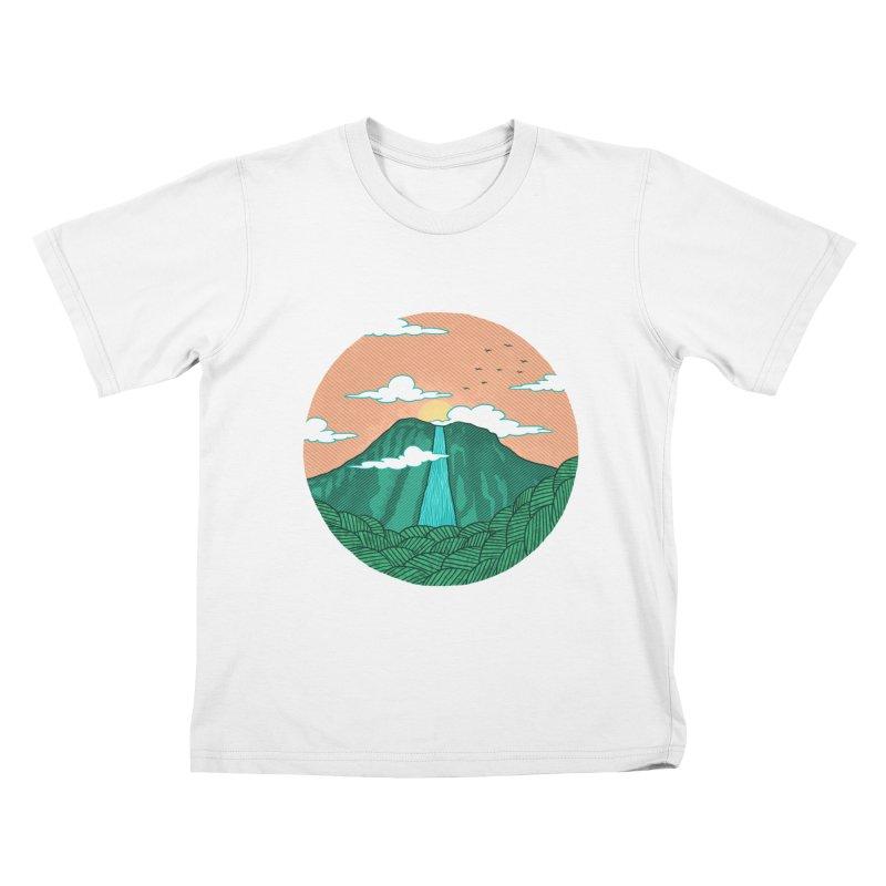 Meditation Kids T-shirt by sachpica's Artist Shop