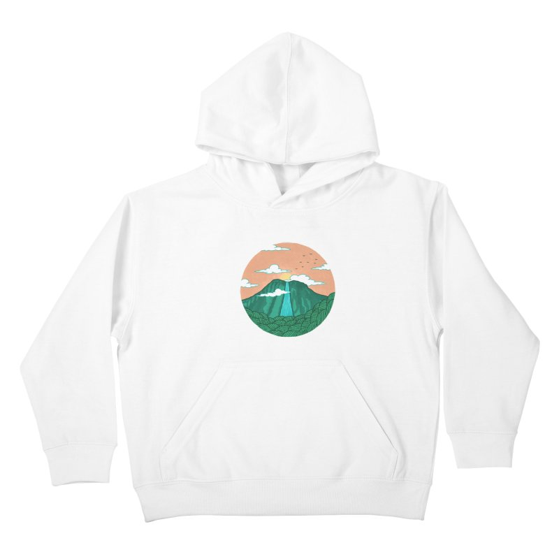 Meditation Kids Pullover Hoody by sachpica's Artist Shop