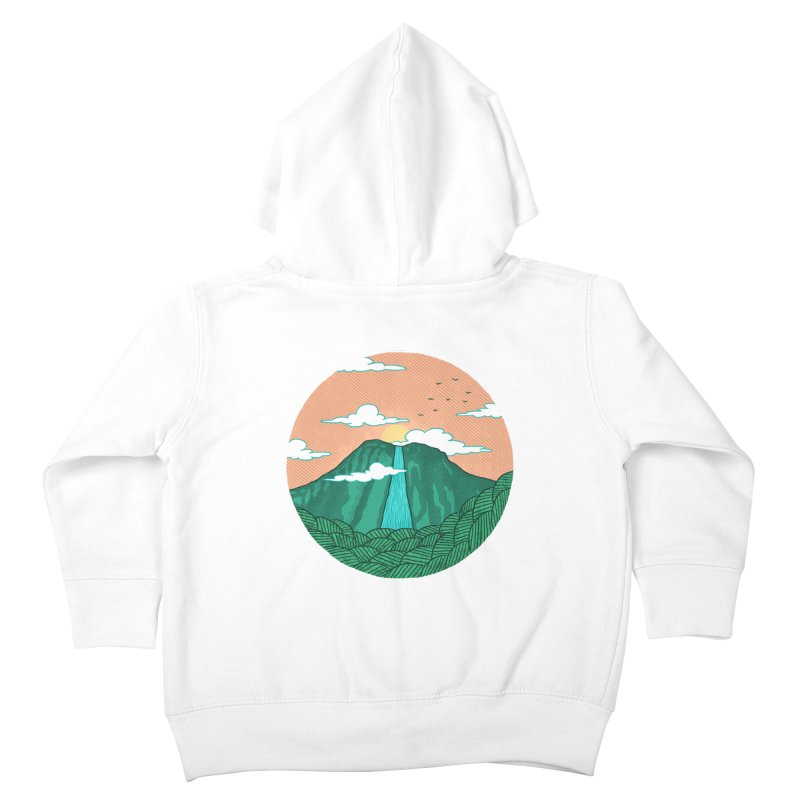 Meditation Kids Toddler Zip-Up Hoody by sachpica's Artist Shop