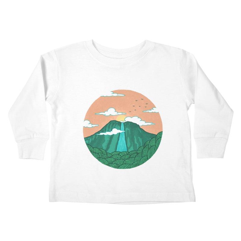 Meditation Kids Toddler Longsleeve T-Shirt by sachpica's Artist Shop