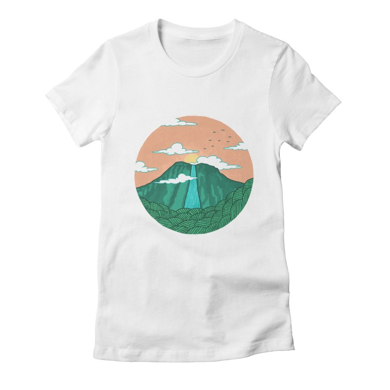 Meditation Women's Fitted T-Shirt by sachpica's Artist Shop