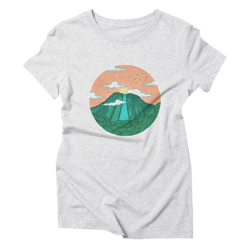 Meditation Women's Triblend T-Shirt by sachpica's Artist Shop