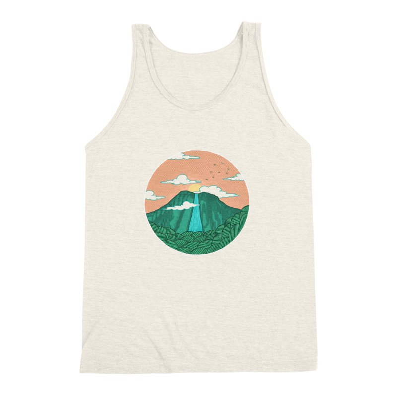 Meditation Men's Triblend Tank by sachpica's Artist Shop