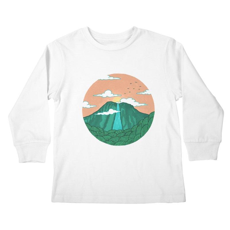 Meditation Kids Longsleeve T-Shirt by sachpica's Artist Shop