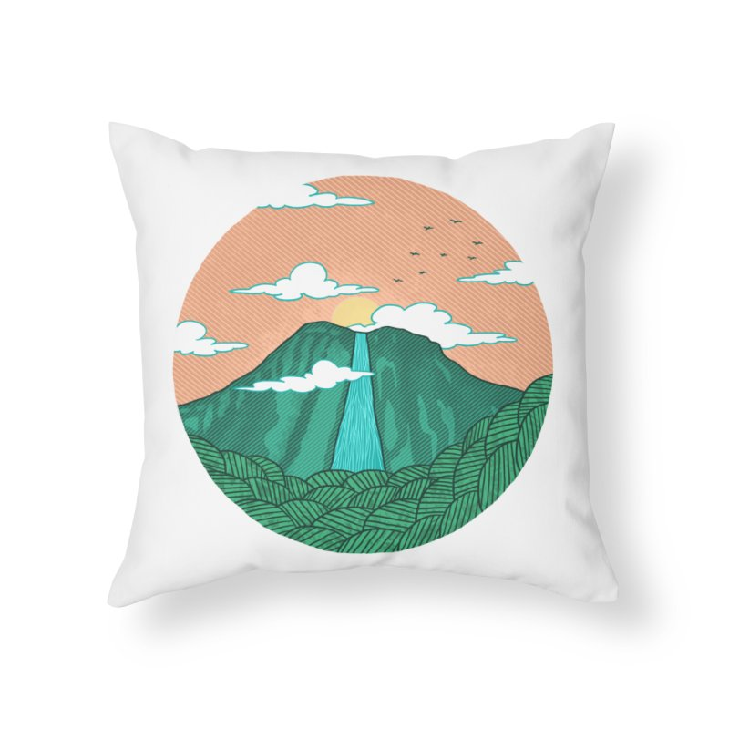 Meditation Home Throw Pillow by sachpica's Artist Shop