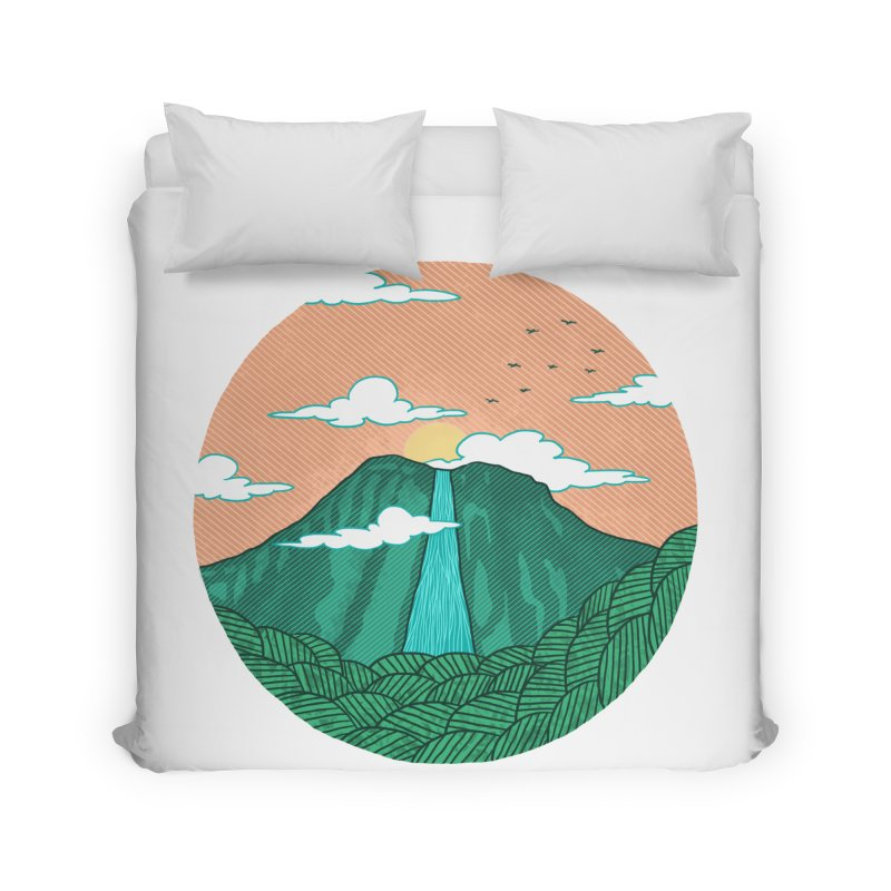 Meditation Home Duvet by sachpica's Artist Shop