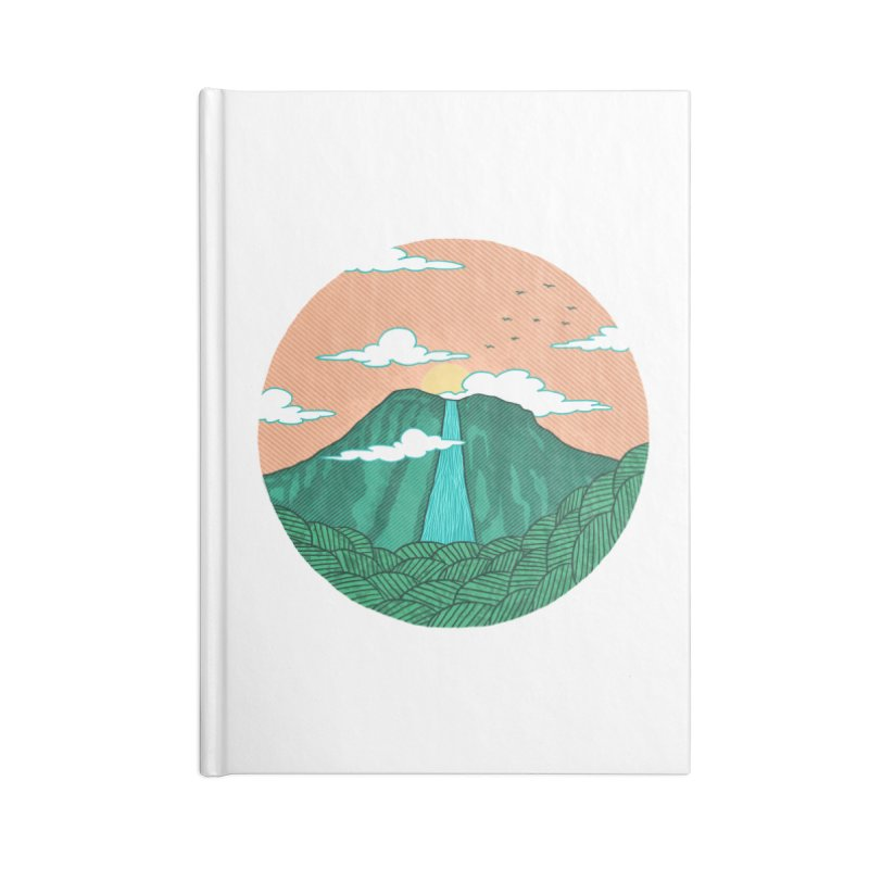 Meditation Accessories Notebook by sachpica's Artist Shop