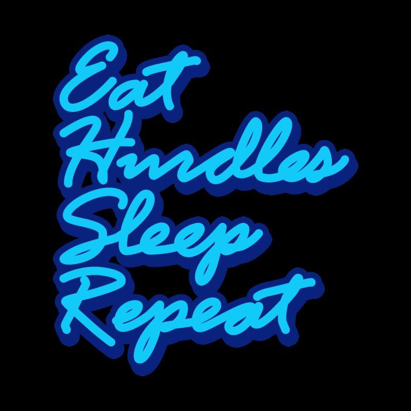 Eat Hurdles Sleep Repeat ✅ Men's T-Shirt by sachpica's Artist Shop