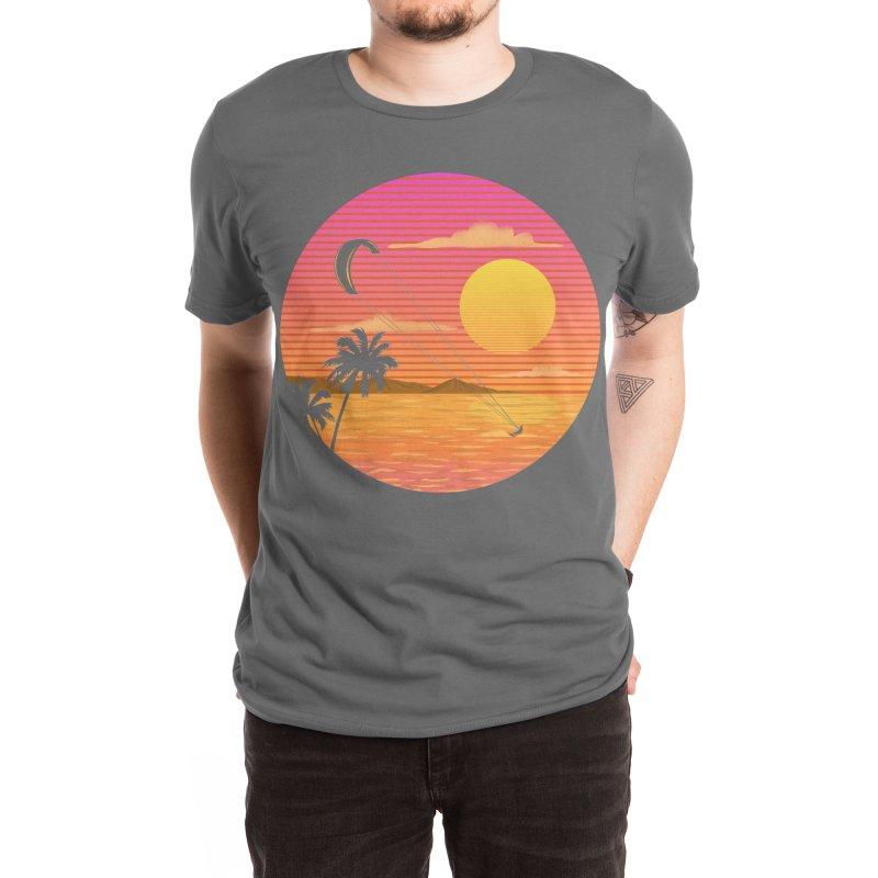 Kitesurfing Men's T-Shirt by sachpica's Artist Shop