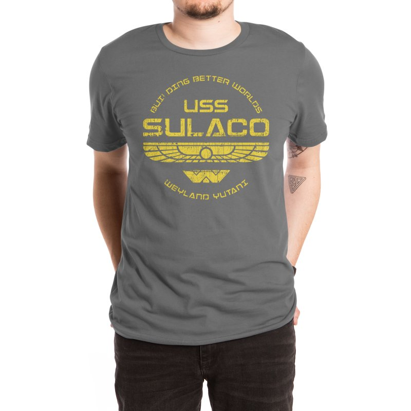 USS Sulaco ✅ Men's T-Shirt by sachpica's Artist Shop