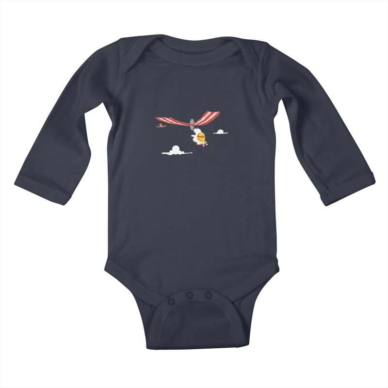 Ultralight Kids Baby Longsleeve Bodysuit by sachpica's Artist Shop
