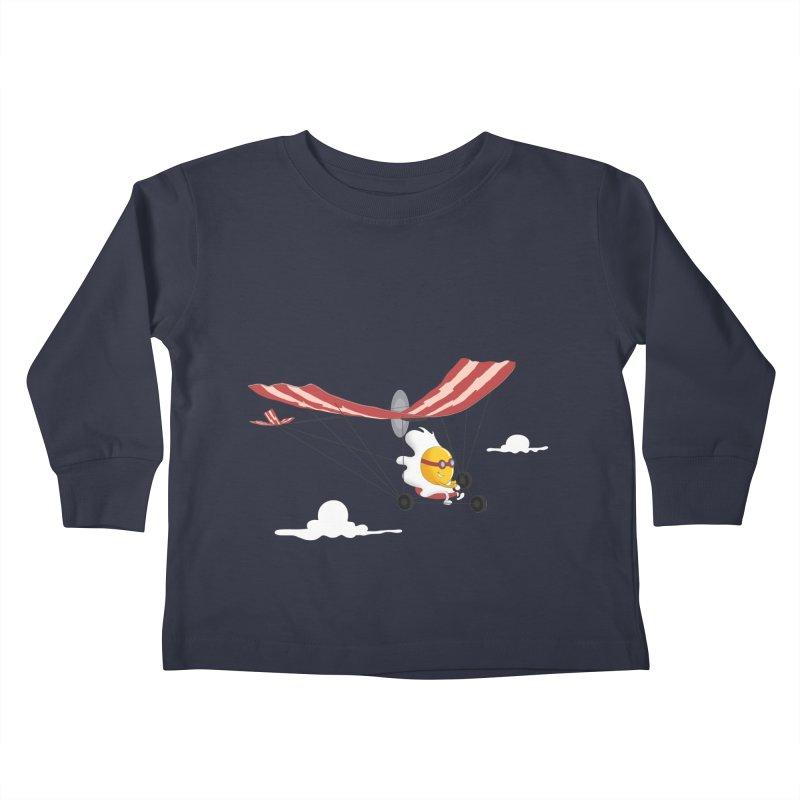Ultralight Kids Toddler Longsleeve T-Shirt by sachpica's Artist Shop