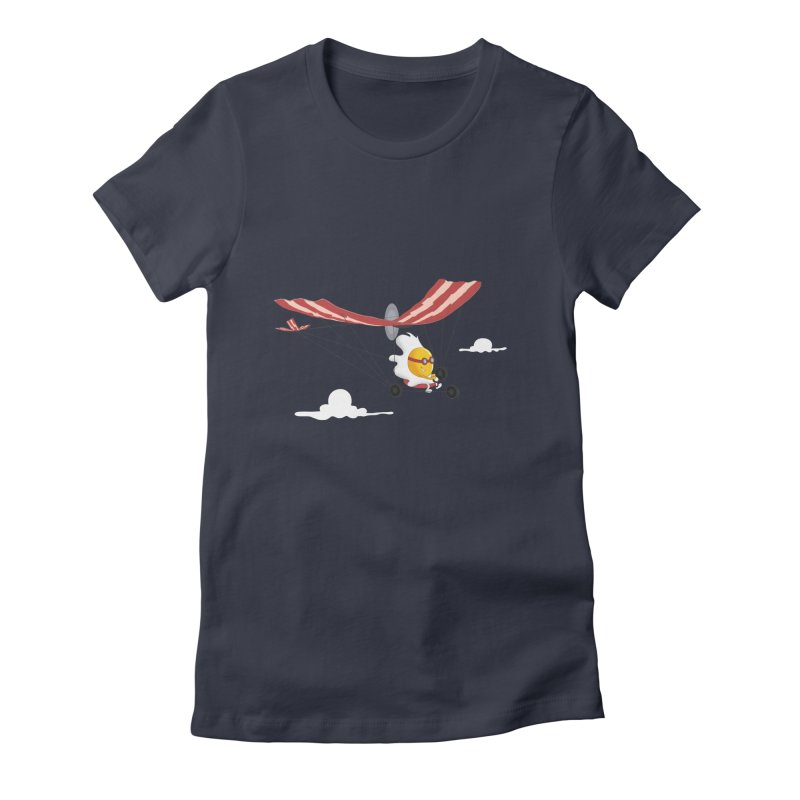 Ultralight Women's Fitted T-Shirt by sachpica's Artist Shop