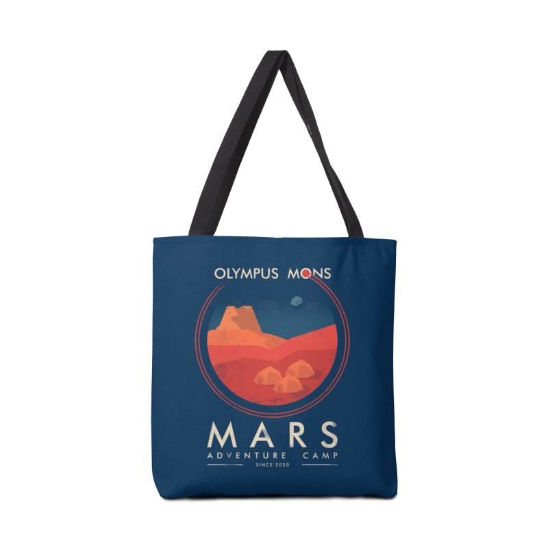Mars Adventure Camp Accessories Bag by sachpica's Artist Shop