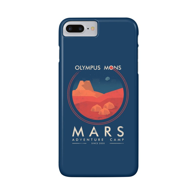 Mars Adventure Camp Accessories Phone Case by sachpica's Artist Shop