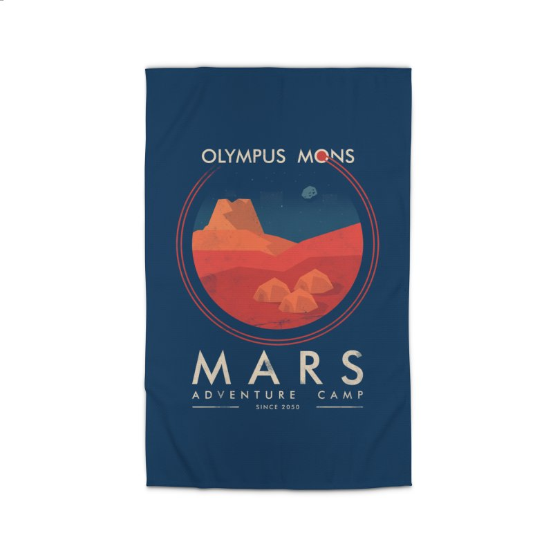 Mars Adventure Camp Home Rug by sachpica's Artist Shop