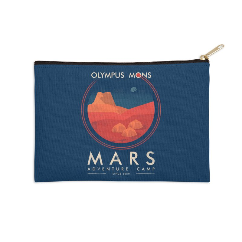 Mars Adventure Camp Accessories Zip Pouch by sachpica's Artist Shop