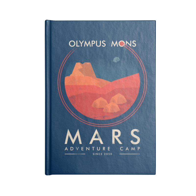 Mars Adventure Camp Accessories Notebook by sachpica's Artist Shop