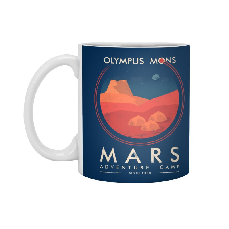 Mars Adventure Camp Accessories Mug by sachpica's Artist Shop