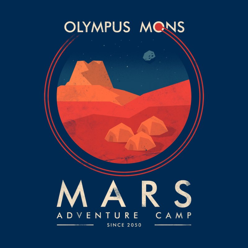 Mars Adventure Camp by sachpica's Artist Shop