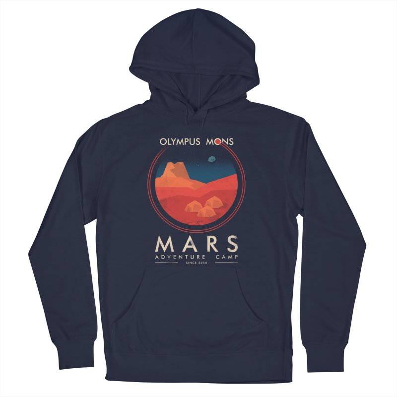 Mars Adventure Camp Men's Pullover Hoody by sachpica's Artist Shop