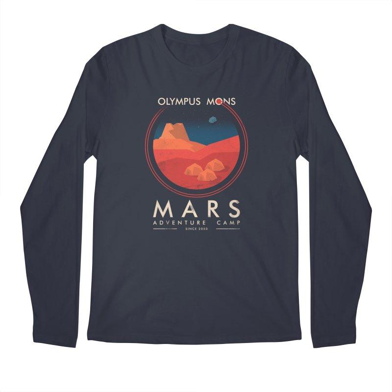 Mars Adventure Camp Men's Longsleeve T-Shirt by sachpica's Artist Shop