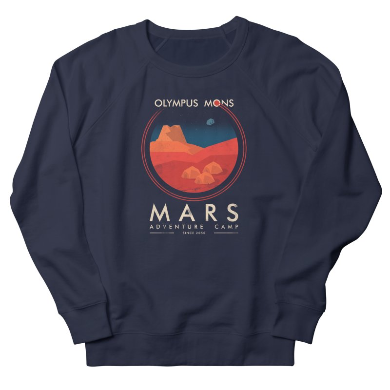 Mars Adventure Camp Women's Sweatshirt by sachpica's Artist Shop