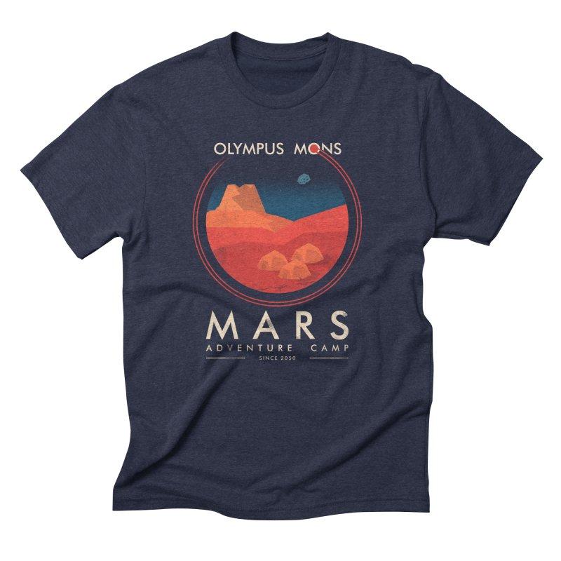 Mars Adventure Camp Men's Triblend T-shirt by sachpica's Artist Shop