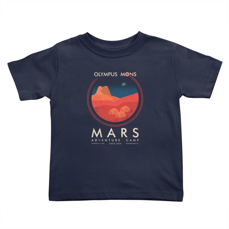 Mars Adventure Camp Kids Toddler T-Shirt by sachpica's Artist Shop