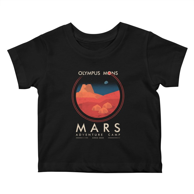 Mars Adventure Camp Kids Baby T-Shirt by sachpica's Artist Shop