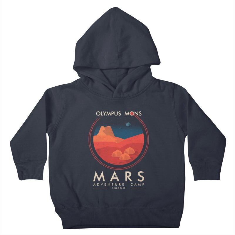 Mars Adventure Camp Kids Toddler Pullover Hoody by sachpica's Artist Shop