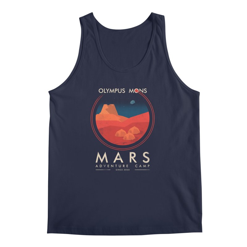 Mars Adventure Camp Men's Tank by sachpica's Artist Shop