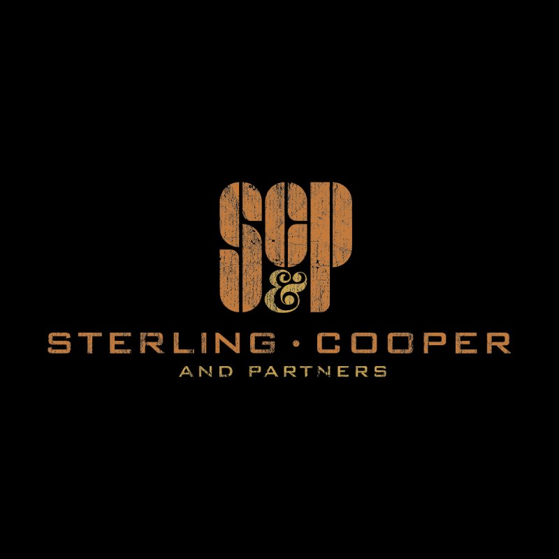 Sterling Cooper and Partners Men's T-Shirt by sachpica's Artist Shop