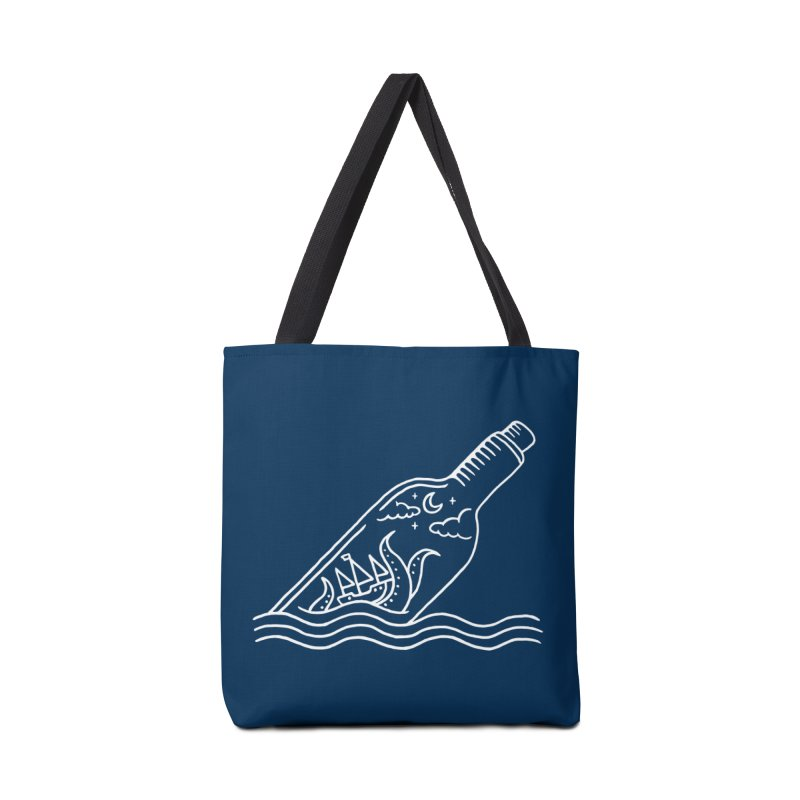 Kraken ina bottle Accessories Bag by sachpica's Artist Shop