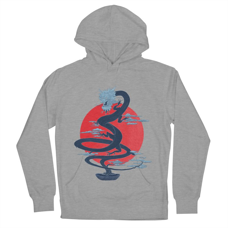 Dragon Bonsai Women's Pullover Hoody by sachpica's Artist Shop