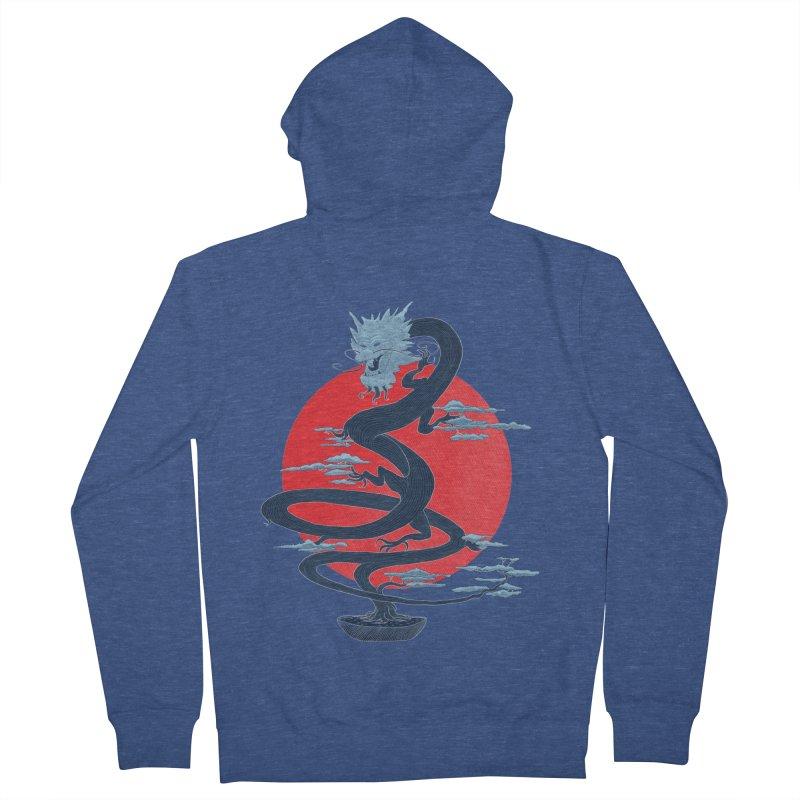 Dragon Bonsai Men's Zip-Up Hoody by sachpica's Artist Shop