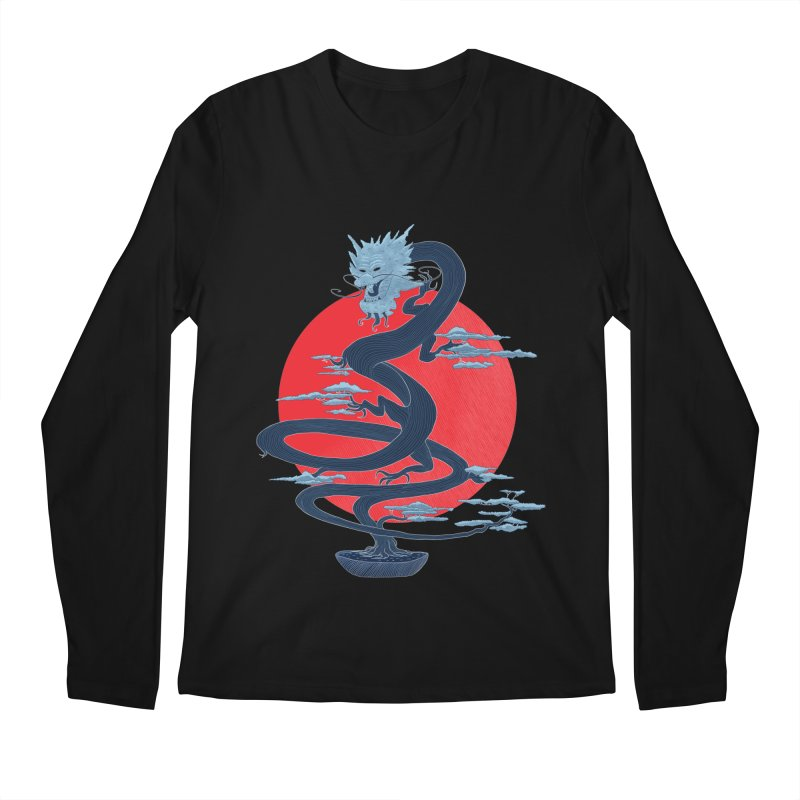 Dragon Bonsai Men's Longsleeve T-Shirt by sachpica's Artist Shop