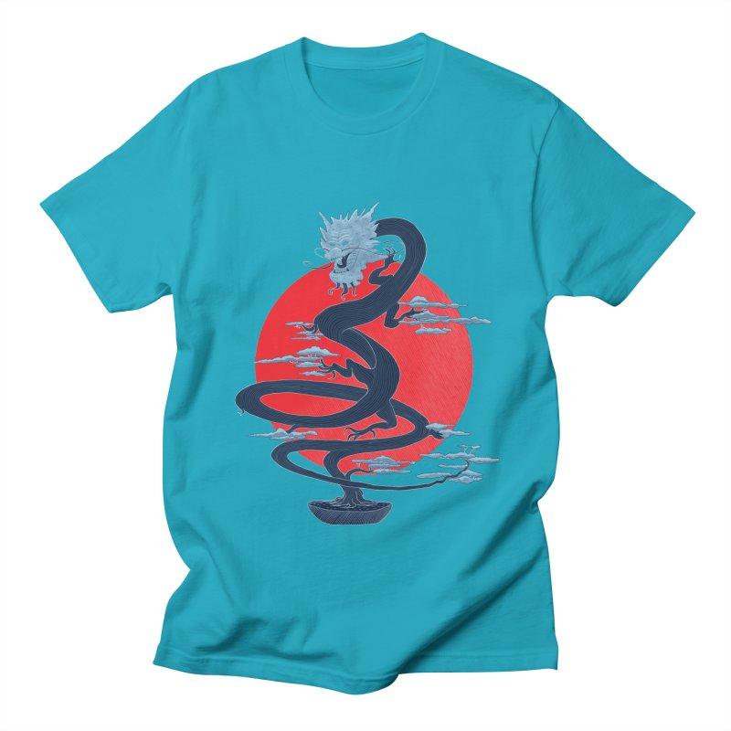 Dragon Bonsai Men's T-shirt by sachpica's Artist Shop