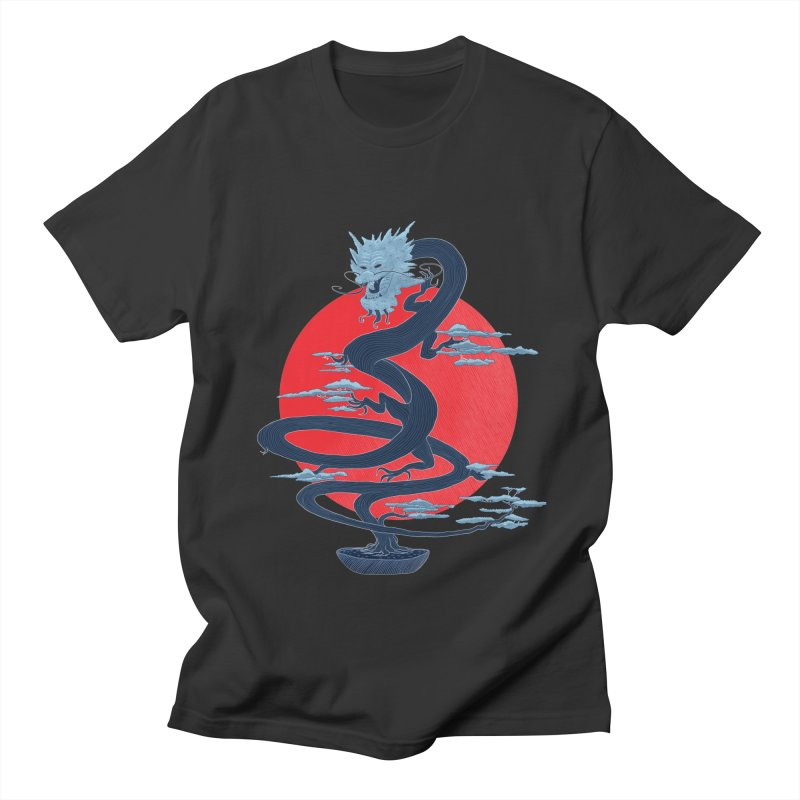 Dragon Bonsai Women's Unisex T-Shirt by sachpica's Artist Shop