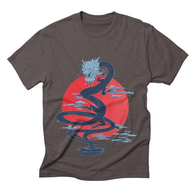 Dragon Bonsai Men's Triblend T-shirt by sachpica's Artist Shop