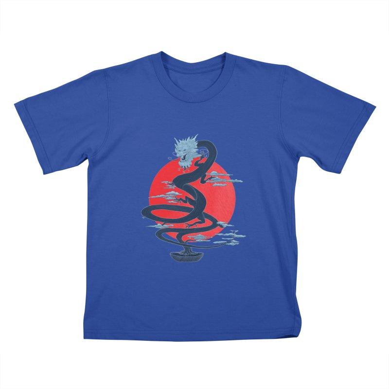 Dragon Bonsai Kids T-shirt by sachpica's Artist Shop
