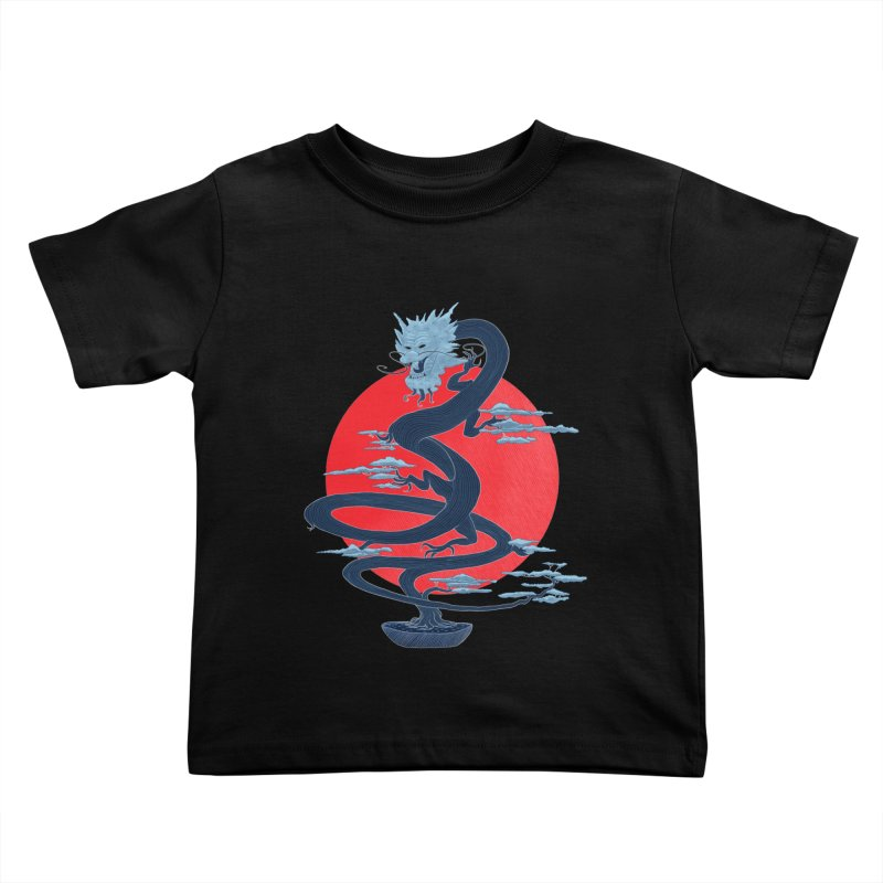 Dragon Bonsai Kids Toddler T-Shirt by sachpica's Artist Shop
