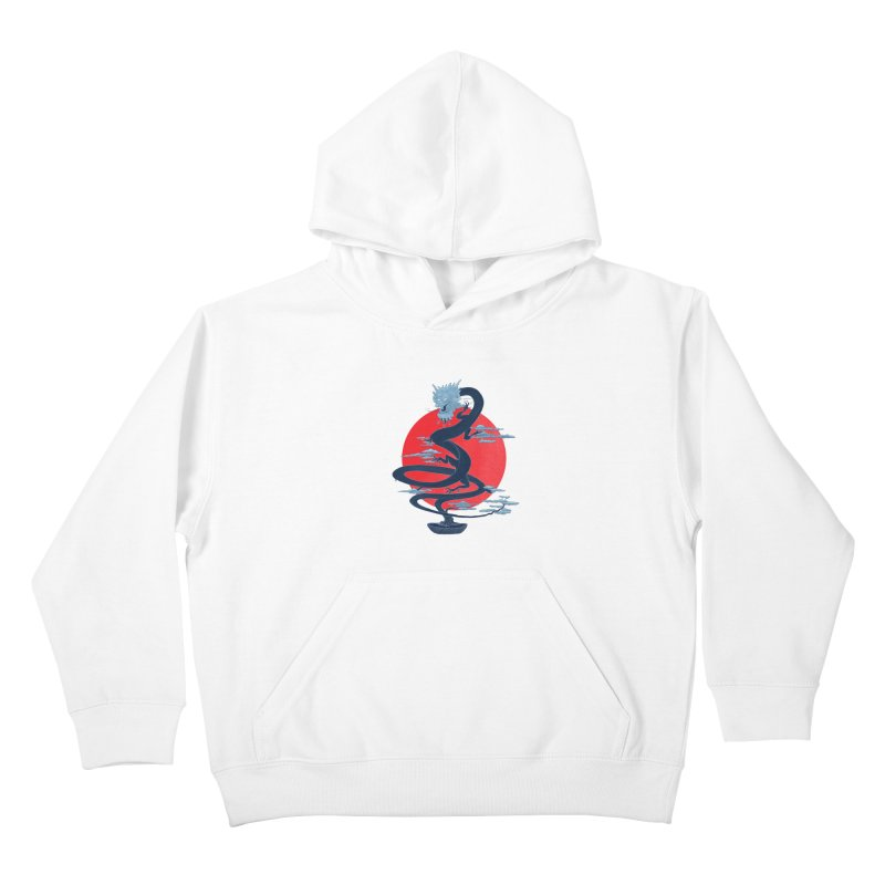Dragon Bonsai Kids Pullover Hoody by sachpica's Artist Shop