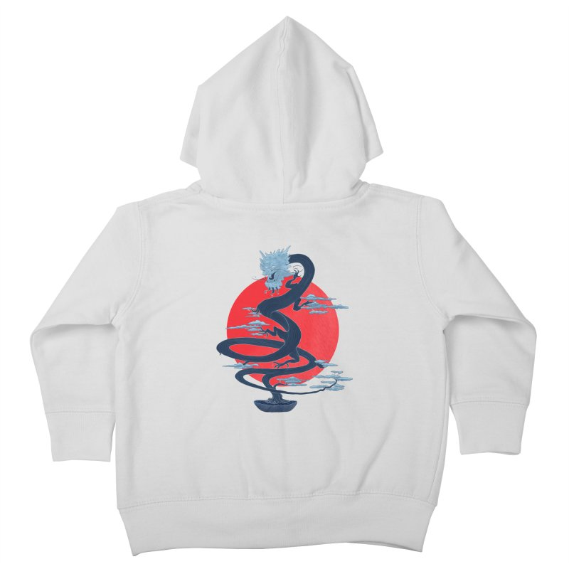 Dragon Bonsai Kids Toddler Zip-Up Hoody by sachpica's Artist Shop