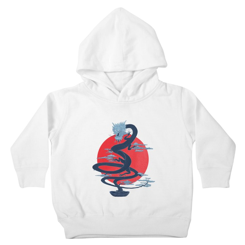Dragon Bonsai Kids Toddler Pullover Hoody by sachpica's Artist Shop