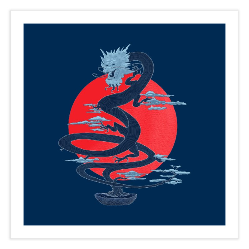 Dragon Bonsai Home Fine Art Print by sachpica's Artist Shop
